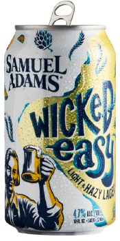 Sam Adams Wicked Easy Light and Hazy Lager 6pk 12oz Cans