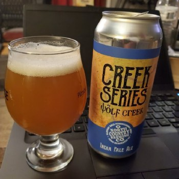 North Country Creek Series Wolf Creek IPA 4pk 16oz Cans