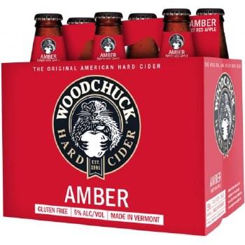 Woodchuck Amber Hard Cider 6pk 12oz Bottles