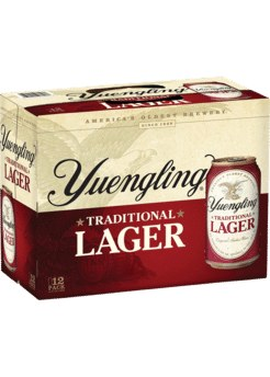 Yuengling Lager 12pk 12oz Cans