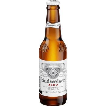 Budweiser Zero NA 6pk 12oz Bottles