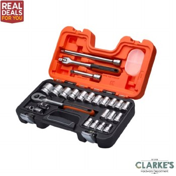 Bahco S240 1/2in Socket Set 24 Piece