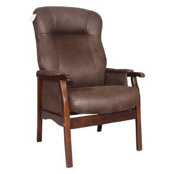 Brandon Fireside Chair Brown