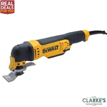 DeWalt DWE315B Oscillating Tool with Bag