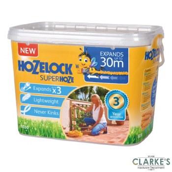 Hozelock Superhoze with Fittings & Jet Spray 30 Meter