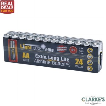 Lighthouse 24 AA Batteries Pack
