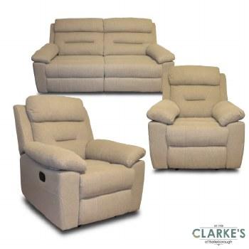 Sanford 3+1+1 Sofa Suite