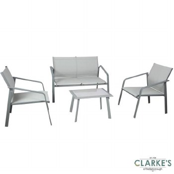 SupaGarden Textiline Garden Furniture Set
