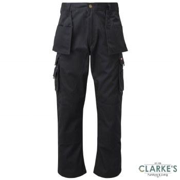 Tuff Stuff Pro 711 Work Trousers Black W34 L30