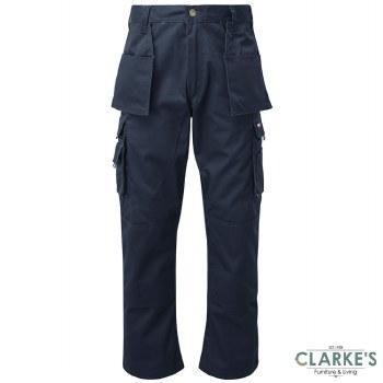 Tuff Stuff Pro 711 Work Trousers Navy W36 L30