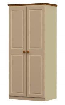 Annagh Ivory Double Wardrobe