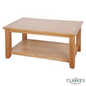Ascot Oak Coffee Table