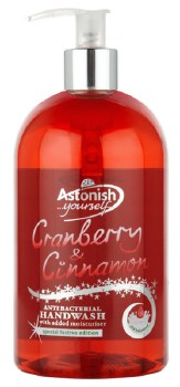 Astonish Hand Wash Cranberry & Cinnamon