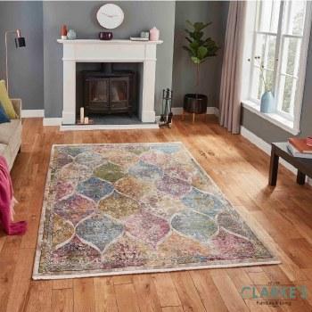 Athena Rug 24021 Multicolour 120 x 170cm