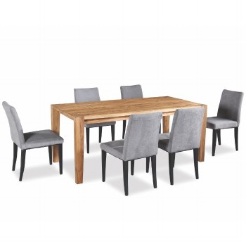 Barnes Dining Set. Table & 6 Chairs