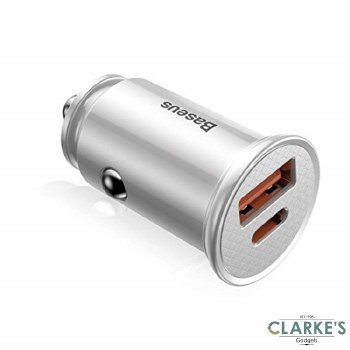 Baseus PPS 2xPort Fast Charge Car Phone Charger 30W
