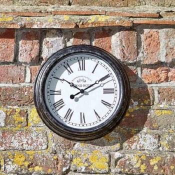 Biarritz 12in Garden Wall Clock