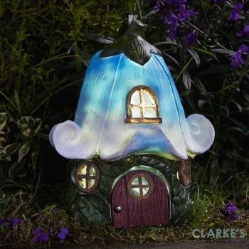 Bluebell Cottage - Solar Garden Decor
