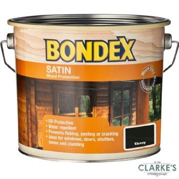 Bondex Satin Wood Protection Ebony 2.5 Litre