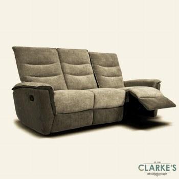 Calvino 3+1+1 Sofa Suite Coffe/Mud