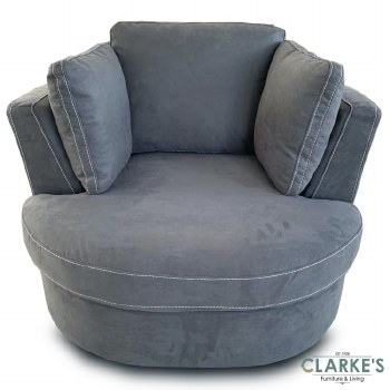 Capri Plus Swivel Armchair | Available in the shop!