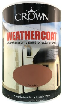 Crown Weathercoat Cinnbar 5L