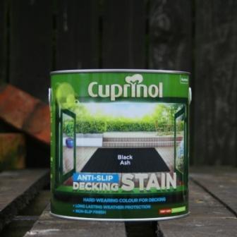 Cuprinol Black Ash Anti-Slip Decking Stain 2.5 Litre