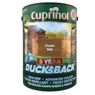 Cuprinol 5 Year Ducksback Forest Oak 5Ltr