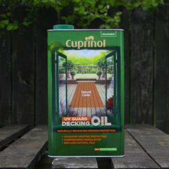 Cuprinol Decking Oil Natural Cedar 5 Ltr