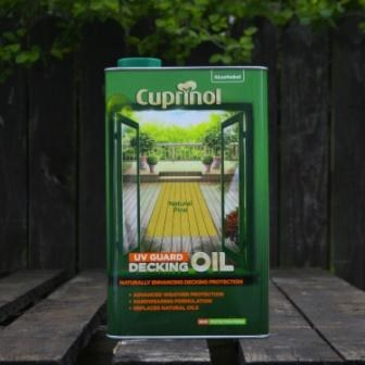 Cuprinol Decking Oil Natural Pine 5 Ltr
