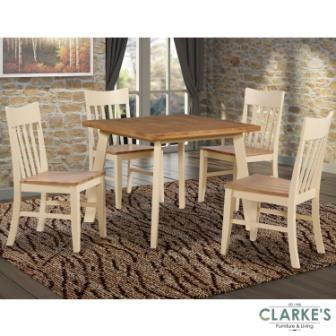 Darwin Dining Set. Table and 4 Chairs