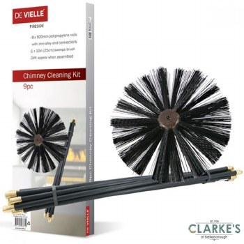 DeVielle Chimney Cleaning Kit