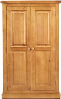 Devon Pine 2 Door Wardrobe