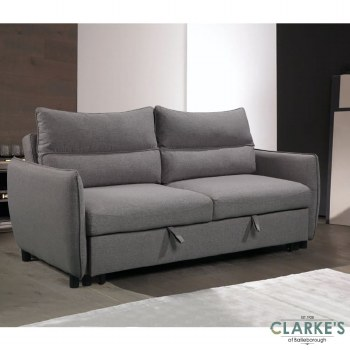 Easy 3 Seater Sofa Bed with Adjustable Backrest. Available in the shop!