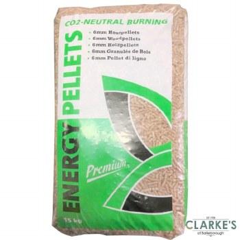 Energy Premium Wood Pellets 15Kg