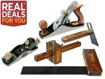 Faithfull Carpenter Tool Set 5 Pieces