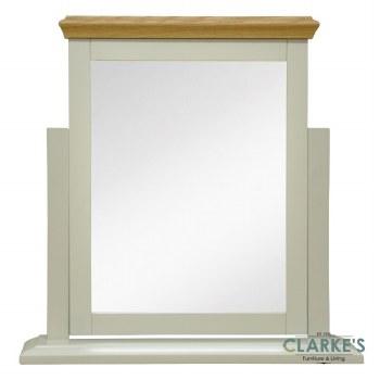 French Oak Vanity Mirror