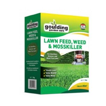 Goulding Lawn Feed, Weed & Moss Killer 3kg
