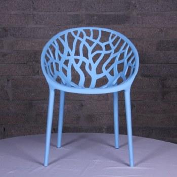 Millie Trellis Garden Chair Blue