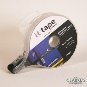 it tape Multi-Purpose Hook & Loop Fastener Black