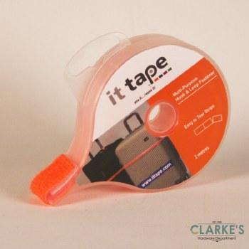 it tape Multi-Purpose Hook & Loop Fastener Orange