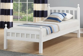Jeniffer White Bed Frame. FREE Nationwide delivery !