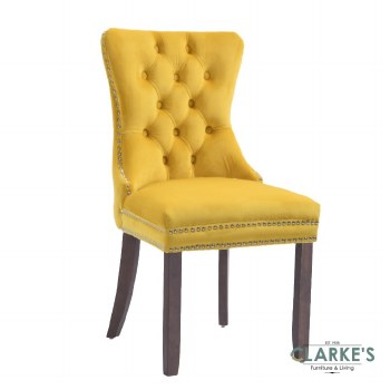 Kacey Dining Chair Gold