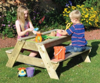 Kids Picnic-Sand Pit Table