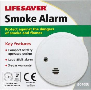 Lifesaver Smoke Alarm