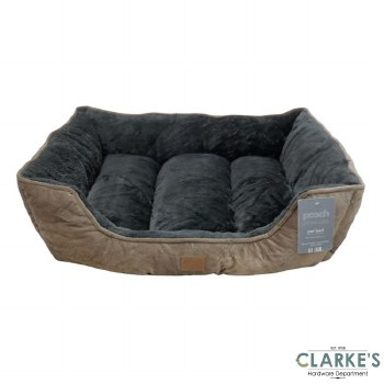 Luxury Style Jumbo Pet Bed Brown