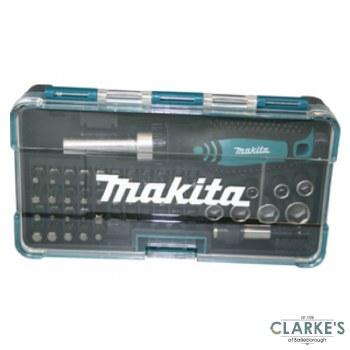 Makita Ratchet and Screwdriver Bit Set