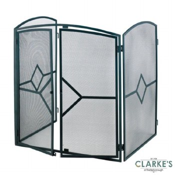 Mansion Black Deluxe Stove Guard