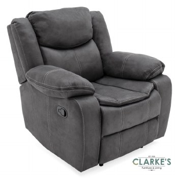 Merryn 1 Seater Recliner Grey Colour