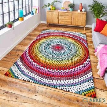 Mosaic Multicolour 22844 Rug 120 x 170cm